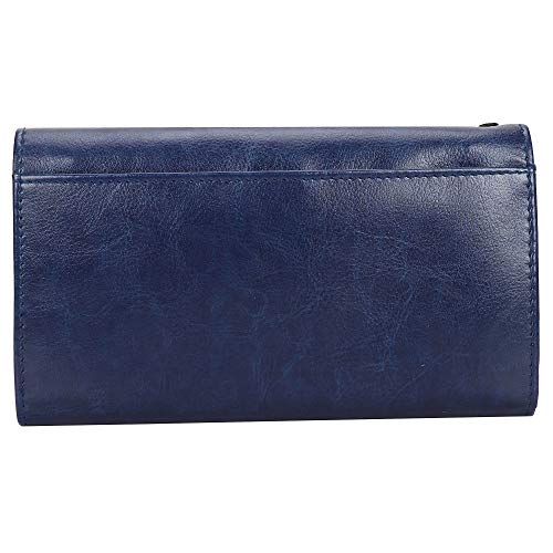 CREATURE Blue Color Stylish Women's Clutch With Multiple Zipper and Card Slots (Color-Maroon   CL-013)