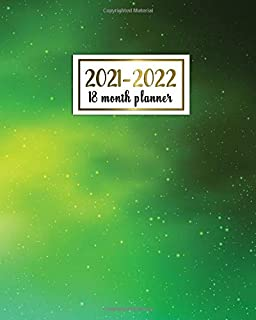 2021-2022 18 Month Planner: Gorgeous 2021-2022 Weekly Planner, Organizer with Vision Boards, To Do Lists, Notes, Holidays ...