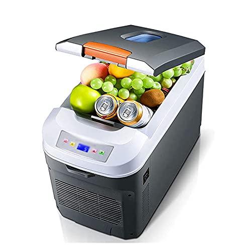 JSJJRFV Refrigerador de Coche 35L Mini refrigerador Coche Casa Dual Uso Dual Uso Frigorífico Portátil Bebida Congelador Cooler Organizador para Coche Home Outdoor Pinesic (Color Name : UK Plug)