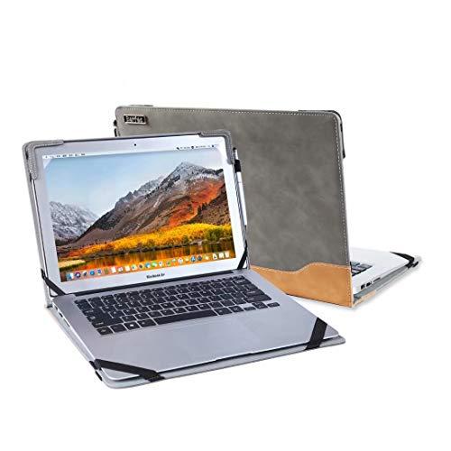 Laptop-Hülle mit Standfunktion für Lenovo IdeaPad 5 14 Zoll / IdeaPad 5i-14IIL/IdeaPad 5 15IIL05 15,6 Zoll / IdeaPad Slim 5i 15,6 Zoll PC Notebook Cover Schutzhülle Sleeve Tasche mit Kühlhalterung