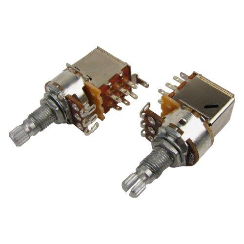 IKN A500K Potenciómetros de empuje y tracción Ollas cónicas de audio Eje...