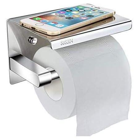Toilettenpapierhalter Ohne Bohren Klopapierhalter Klorollenhalter WC Edelstahl