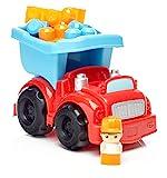 Mega Bloks- Camión de Carga, Juego de Bloques de construcción, Multicolor (Mattel DYT58)