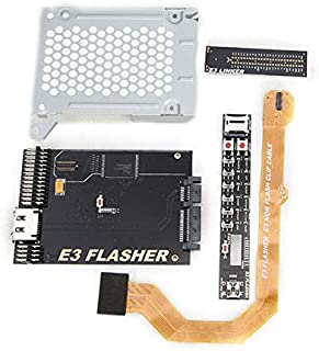 Original E3 Nor Flasher with 4 Parts for PS3 Dual Boot Slim Power Switch-Downgrade from v4.5 to v3.55 - Sony Video Games Accessories PlayStation 3-1 x Set of E3 Nor Flasher (4 Parts)