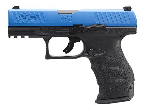 Umarex T4E Walther PPQ .43 Caliber Training Pistol Paintball Gun Marker, Blue