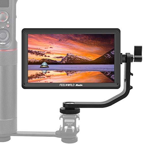 Feelworld Master MA6P DSLR-Monitor-de-Campo-Reflex 5.5 Pulgadas, Camera Field Monitor IPS 4K Full HD 1920x1080 Pixels Output