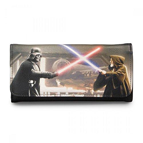 Wallet–Star Wars–Darth Vader & Obi Foto wirklich neuen stwa0027