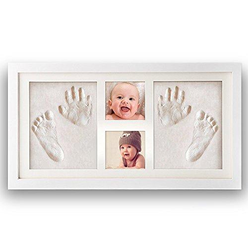 Impronta bambino, Pootack cornice impronta neonato con...