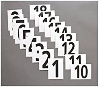 Stackhouse #1 to 100 Competitors Numbers