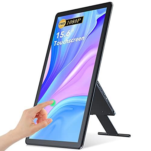 Monitor Portátil Táctil USB C, UPERFECT 15,6' Full HD 1920 x 1080...
