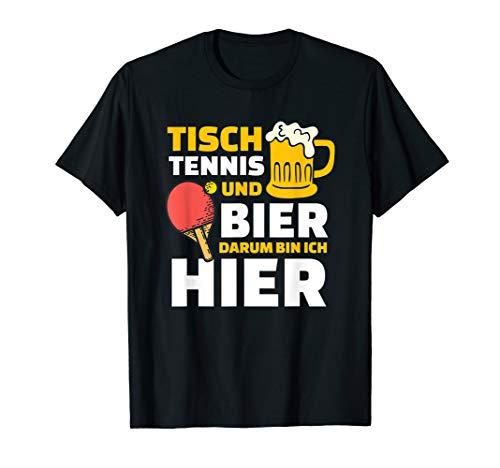 Tischtennis Geschenk-Idee I Lustiges T-Shirt
