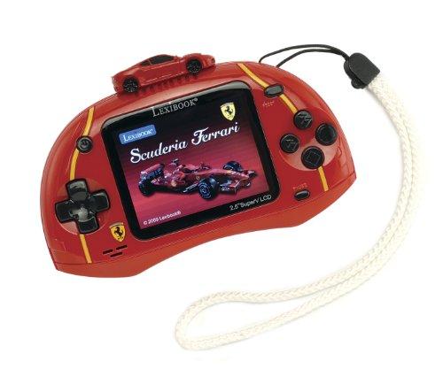 Lexibook JL2500FE - LCD-Spielkonsole Cyber Arcade TV Ferrari
