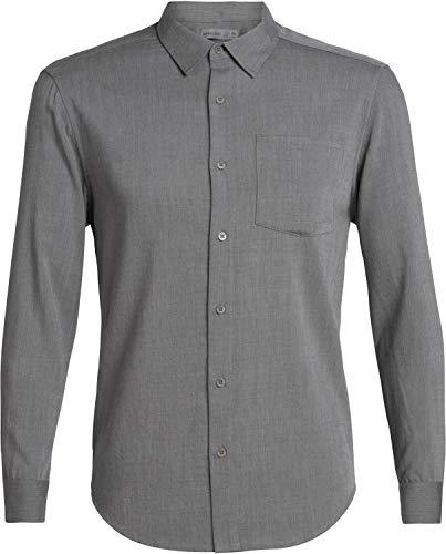 Icebreaker 150 Steveston Longsleeve Flannel Shirt Men - Merino Hemd