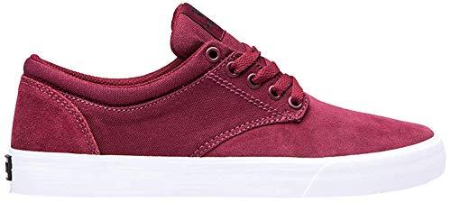 Supra Unisex Chino Sneaker, Rot (Wine-White-M 698), 44 EU