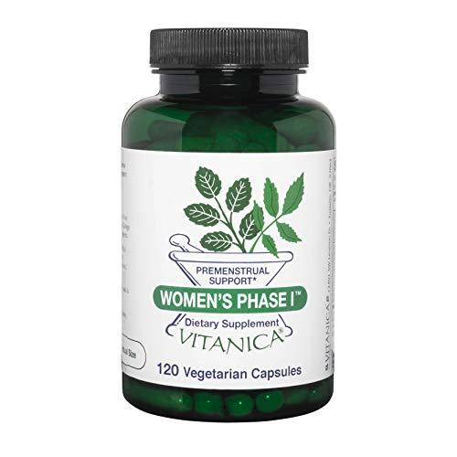 Vitanica Women's Phase I, Premenstrual Support, Vegan, 120 Capsules