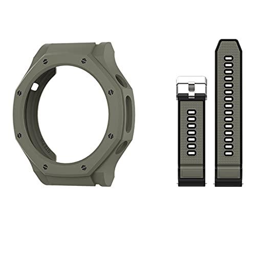SGGFA Funda para reloj huawei GT2 Pro Case Smart Watches Cover TPU Shell Protector Sport Accesorios (color : D, tamaño: Gt2pro-ecg)