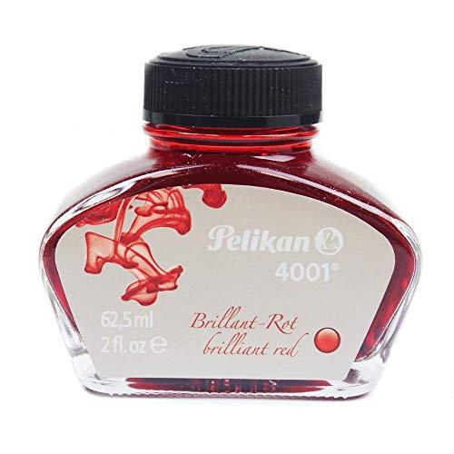 PELIKAN Ink Bottle 4001 Brilliant Red 625ml (329169)