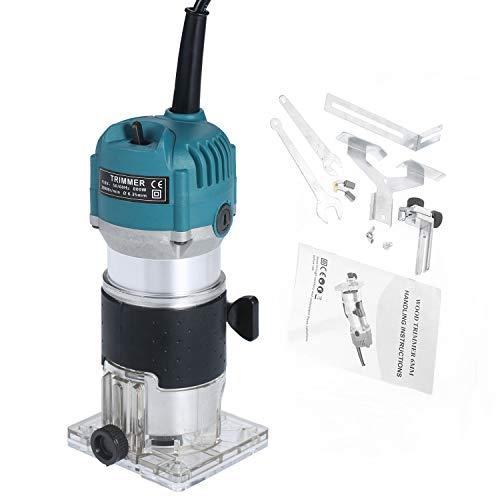 KKmoon Fresatrice Elettrica 220 V 800 W 30000r / min, Manuale Compatta...