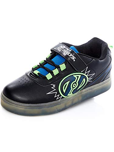 Heelys X2 Fitnessschuhe, Mehrfarbig (Black/Blue/Green 000), 31 EU