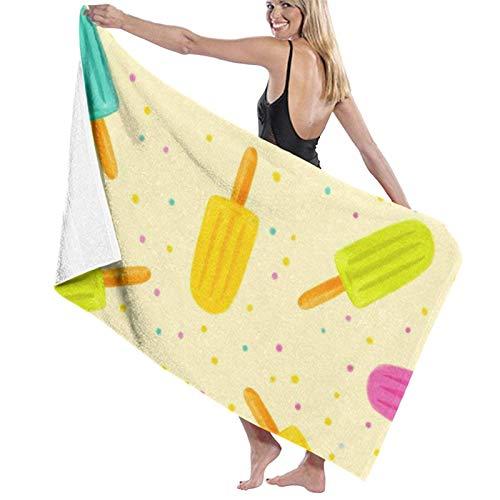 Toallas Shower Towels Beach Towels Bathroom Towels Toalla De Baño Toallas de baño para piscina con patrón de puntos de paleta de colores Toalla 130 x 80 CM