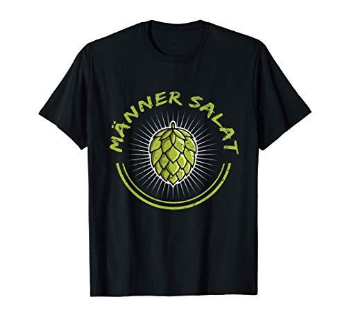 Herren Bier Mälzer Brauerei Hopfen Brauen T-Shirt