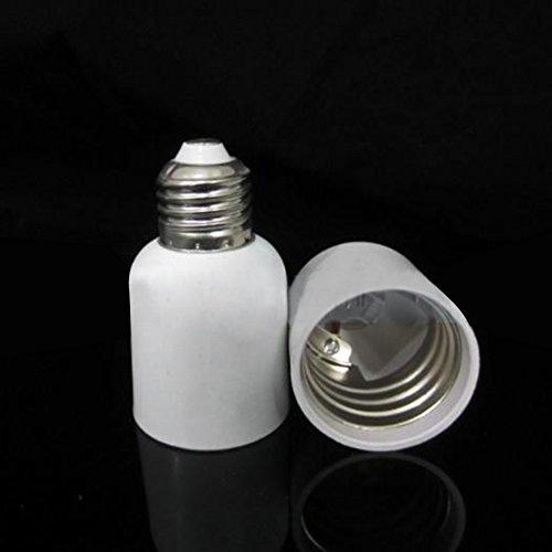 Metermall Home E27 to E40 Converter Lamp Holder LED Light Bulb Base