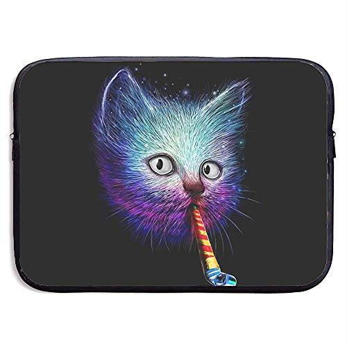 Waterdichte Computer Tas, Laptop Sleeve Hoes, Zakelijke Aktetas Mes, Slurp Party Grappige Kat Blow Fluitje Laptop Sleeve Tas, Compatibele Notebook Bag Case, Tablet Case Cover