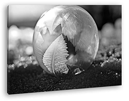 deyoli Precioso Cristales de pompas de jabón Efecto: Blanco y Negro como...