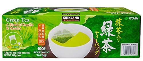 Kirkland Signature Green Tea, Matcha Blend, 100 bags