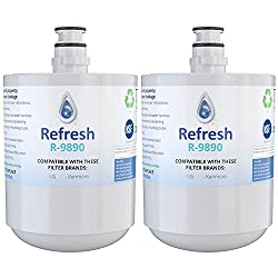Refrigerator Water Filter Compatible with LG and Kenmore