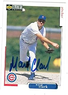 Mark Clark autographed Baseball Card (Chicago Cubs) 1998 Upper Deck No.327