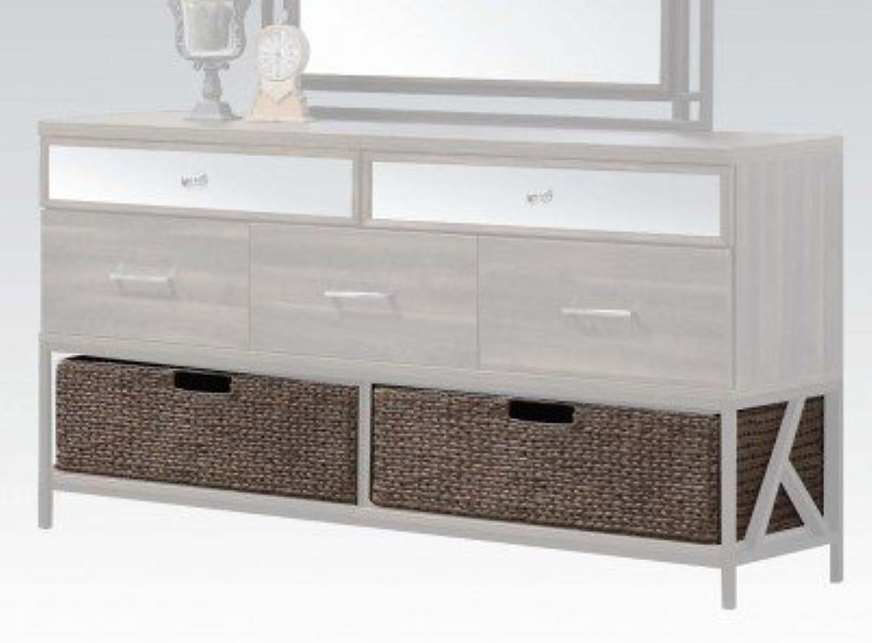 ACME Furniture 20956 Adrianna Basket for Dresser (Set of 2), Walnut