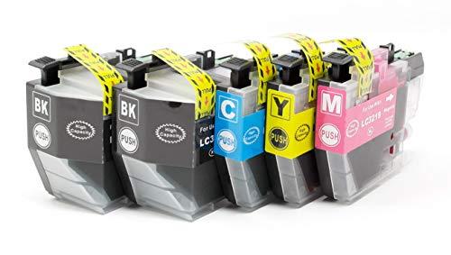 OBV 5X kompatible Tintenpatrone als Ersatz für Brother LC-3219XL MFC-J5330DW J5335DW J5730DW J5930DW J6530DW J6930DW J6935DW BK/BK/C/M/Y