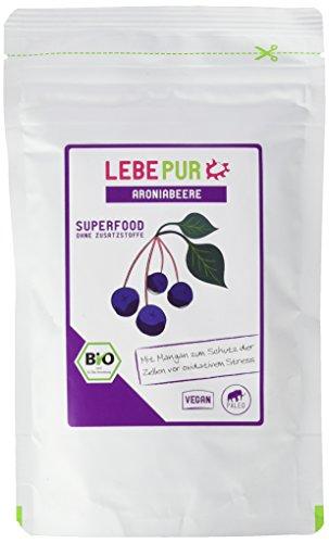Lebepur Aronia Pulver Bio, 2er Pack (2 x 150 g)