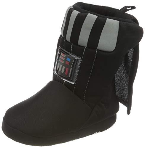 Cerdá Jungen Zapatillas de Casa Bota Star Wars Darth Vader Hausschuhe, Schwarz (Negro C02), 23/24 EU