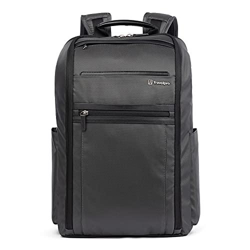 Travelpro Crew Executive Choice 3 Slim Backpack, Titanium Grey