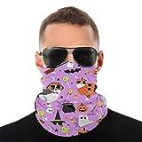 mjmhvfhtgdcgdcx Aussie Hund Halloween Vegan für alles Unisex Gesicht BandaVariety Kopftuch für Schal Krawatte