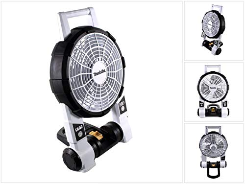 Makita dcf201zw tragbar Fan, 14,4V, weiß