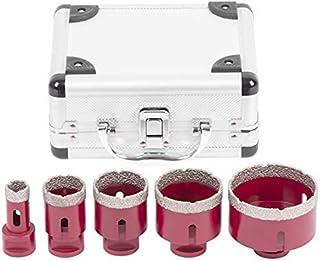 Diamentowe wiertła do glazury/szkła/gresu | 20-35-45-55-68 mm | Premium otwornica do szlifierek kątowych Flex M14 | alumin...