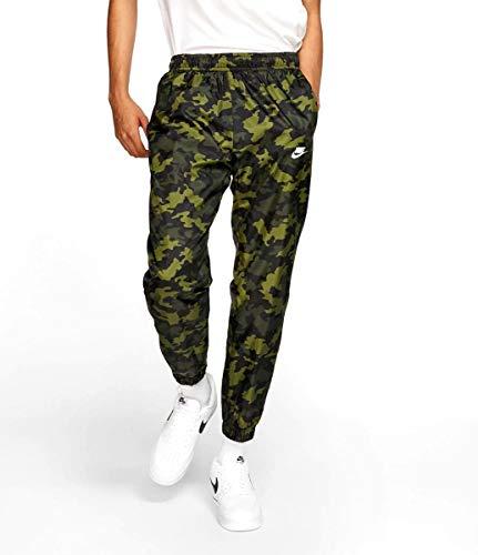 Nike Camo Woven Track Pants Size Large