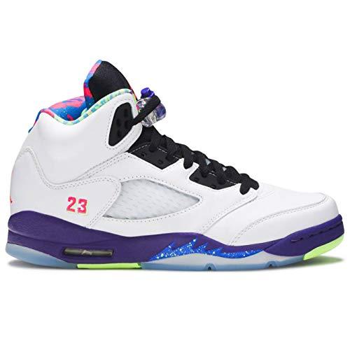 Nike Air Jordan 5 Retro (gs) Big Kids Casual Basketball Shoe Db3024-100 Size 4