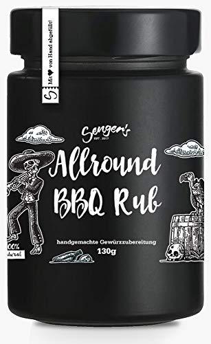 Sengers BBQ Grill Gewürz Allround Rub, Schwein, Rind, Gemüse 100g