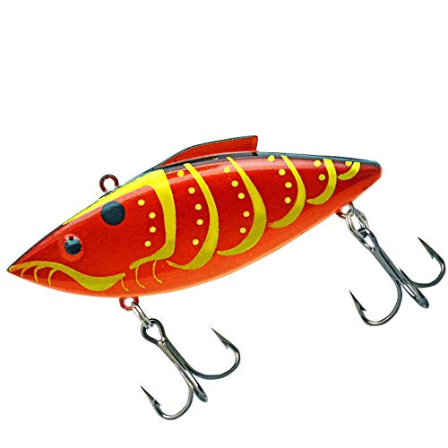Rat-L-Trap RT587 Fishing Lure, 1/2-Ounce, Rayburn Red