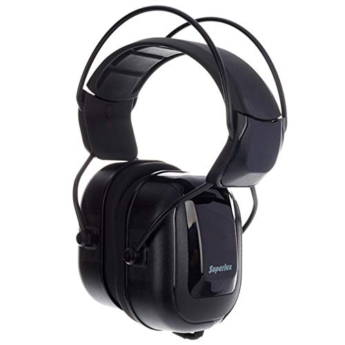Superlux Studio auriculares HD-665 Over Ear Noise Cancelling negro