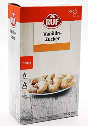 Ruf Vanillin Zucker (Milch und Mehlspeisen), 2er Pack (2 x 1 kg)