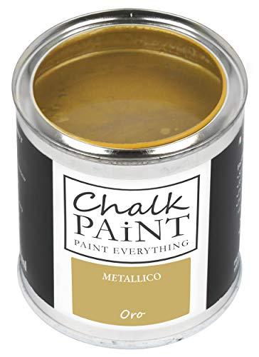 VERNICE METALLICA Professionale ORO 250 ml - Aderisce a tutti i materiali senza carteggiare