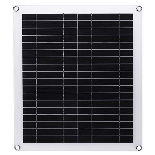 MJJEsports 20 W draagbaar zonnepaneel, Dual USB, polykristallijn, silicium, zonnecel