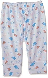 Papillon Printed Elastic Waist Pants for Kids - Multi Color, 6-9 Months