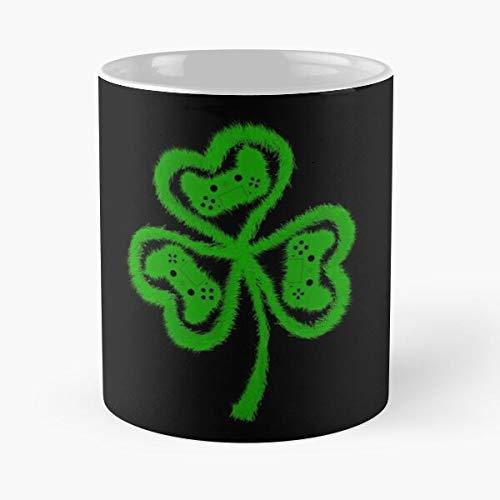 Gamershaun was Leprechaun Patrick Day I Patricks Games Shamrock Gaming Video St Gamer Irish Eat Food Bite John Best Taza de café de cerámica de 325 ml