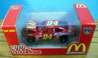 1998 Racing Champions Bill Elliott Mcdonald's #94 NASCAR Red Die Cast Car
